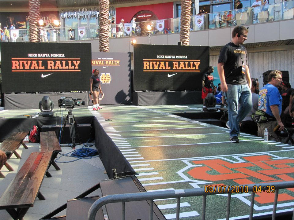 Vivi-Q Teleprompting at Rival Rally