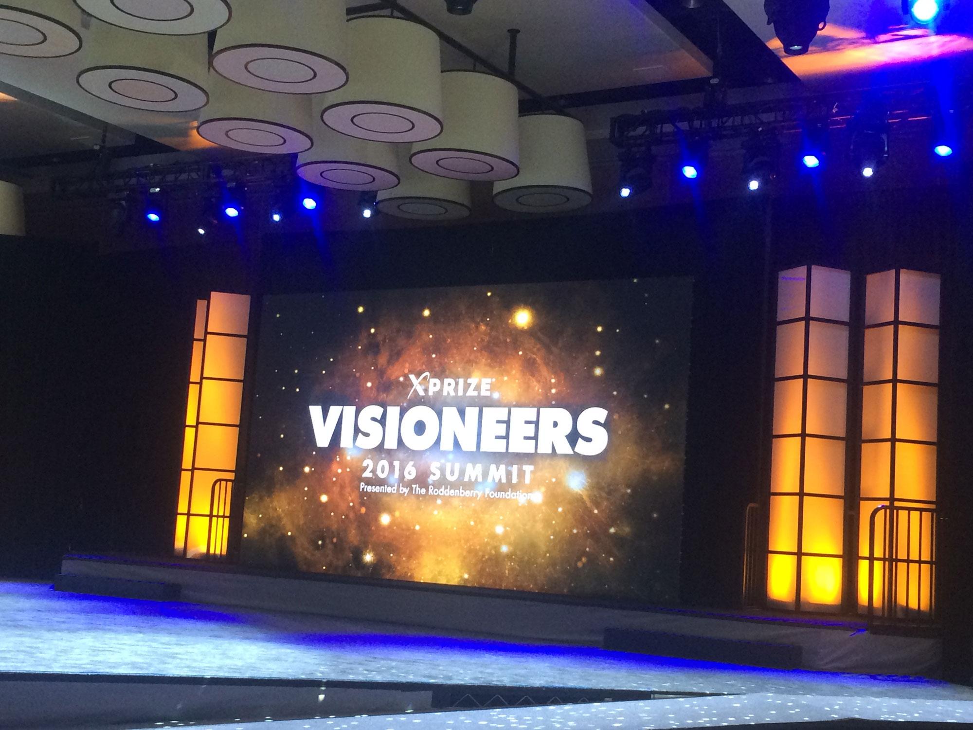Visioneers Summit with Viv-q Teleprompting Service