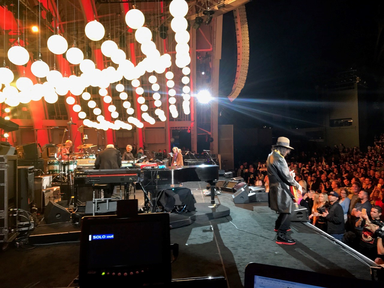 Tom Petty & The Heart Breakers with ViVi Q Teleprompters