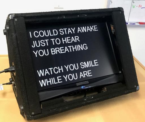 Wedge monitor