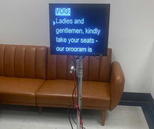 Direct View Teleprompter